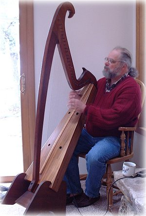 Jeff Pockat, Celtic harp musician composer