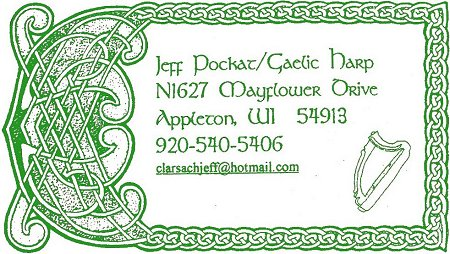 Celtic Gaelic harp harpist composer instrumentalist for hire recordings CDs and audio tapes musician